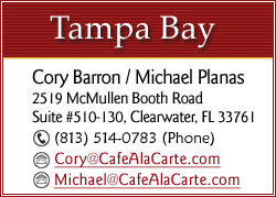 CLICK TO EMAIL Cory or Michael FOR TAMPA BAY AREA EVENTS